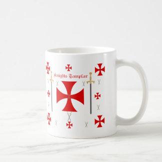 Knights Templar Basic White Mug