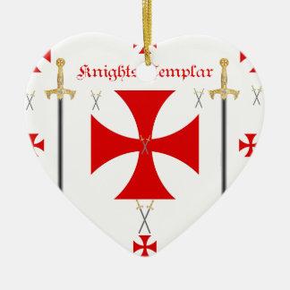 Knights Templar Christmas Ornament