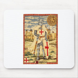 KNIGHTS TEMPLAR CLASSIC MOUSE MAT