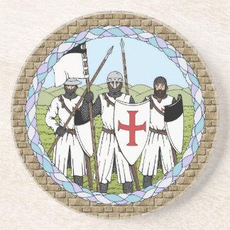 Knights Templar Coaster