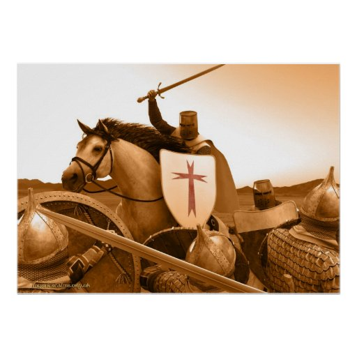 Knights Templar - Come To Death Print