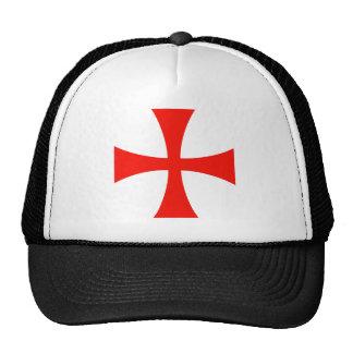 Knights Templar Cross Cap