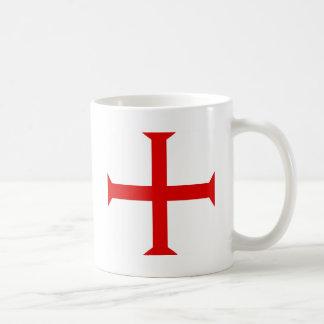 Knights Templar Cross Mugs