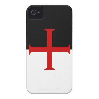 Knights Templar Flag Case-Mate iPhone 4 Case