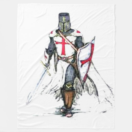 KNIGHTS TEMPLAR FLEECE BLANKET