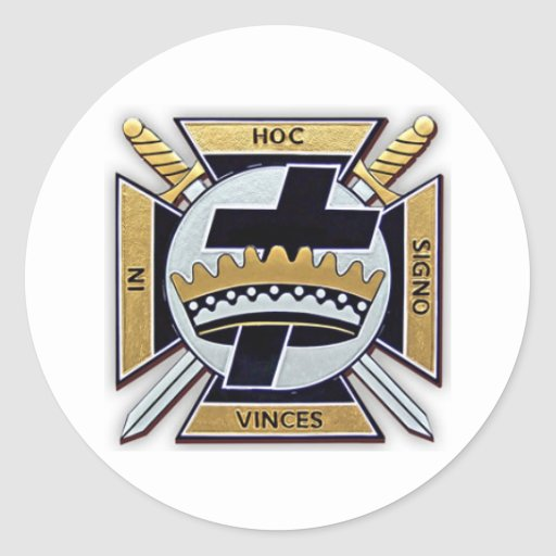 Knights Templar Products Stickers