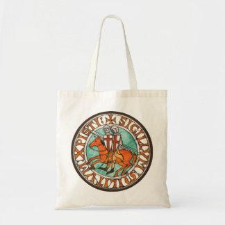 Knights Templar Seal Budget Tote Bag