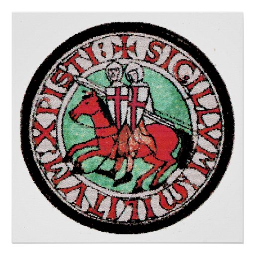 Knights Templar Seal Posters