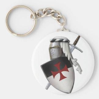 Knights Templar shield Key Ring