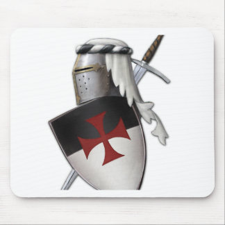 Knights Templar shield Mouse Mat