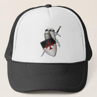 Knights Templar shield Trucker Hat
