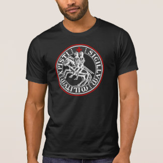 Knights Templar Soldiers Seal T-Shirt