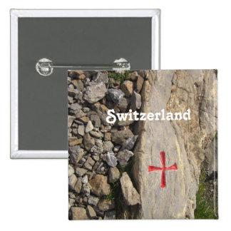 Knights Templar Switzerland 15 Cm Square Badge