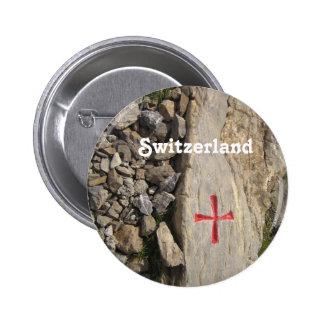 Knights Templar Switzerland 6 Cm Round Badge