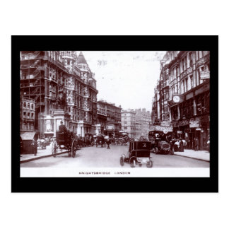 Knightsbridge, London 1910 Vintage Postcard