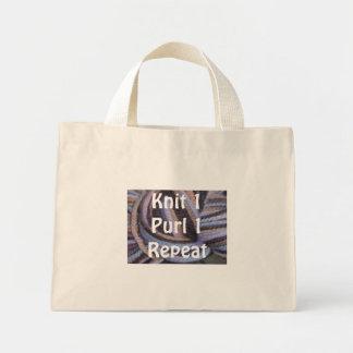 Knit1 Mini Tote Bag