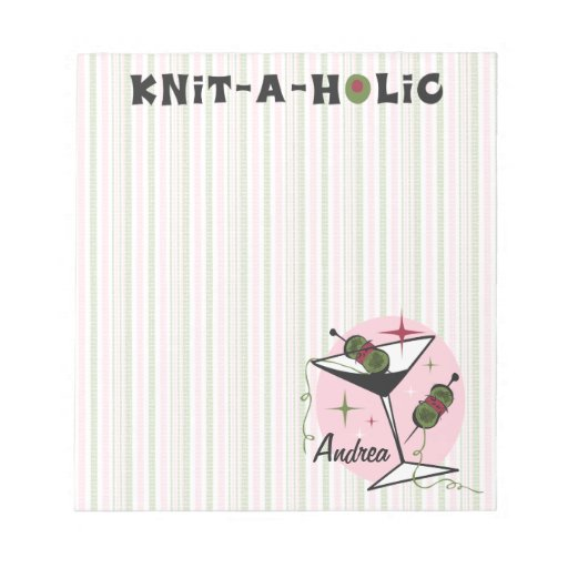 Knit-A-Holic Memo Notepads