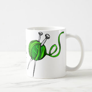 Knit and Keep Calm Coffee Mug