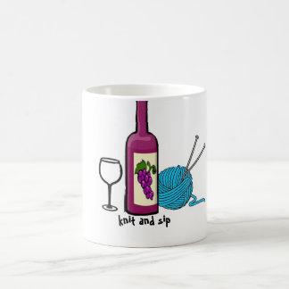 knit and sip mug