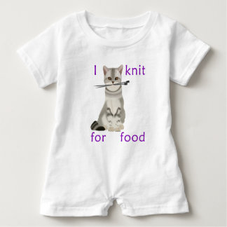 Knit For Food Baby Bodysuit