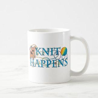 Knit Happens Coffee Mug