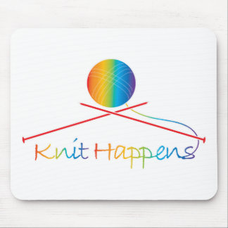 Knit Happens Mouse Mat