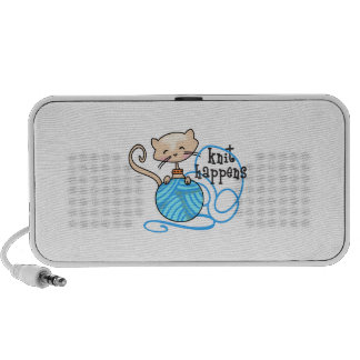 KNIT HAPPENS iPod SPEAKER