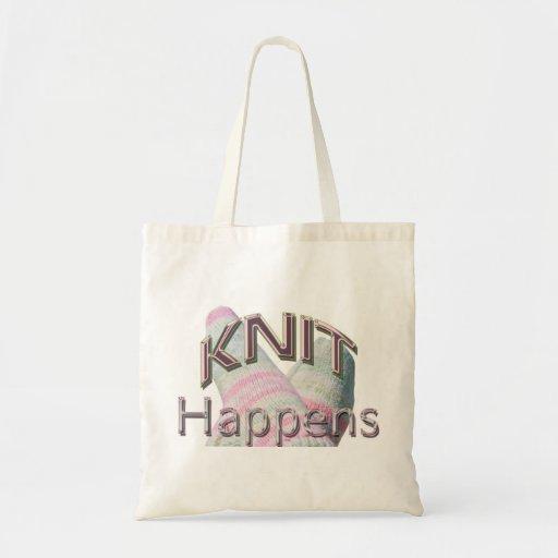 Knit Happens Tote Bag