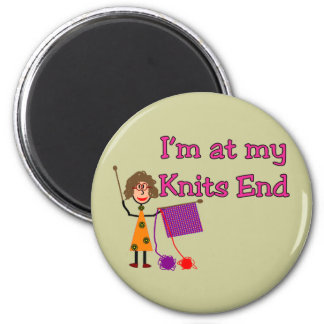 Knit Lovers Gifts Magnet