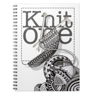 Knit One Doodle Art Notebook