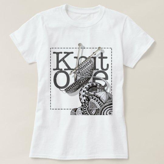 Knit One Doodle Art T-Shirt
