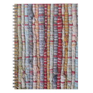 Knit Print Spiral Notebook