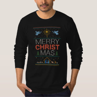 Knit Religious Christian Ugly Christmas Sweater