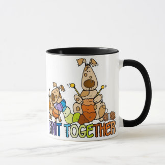knit together mug