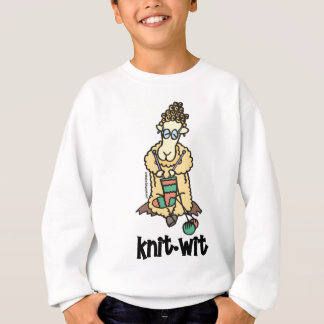 Knit-Wit Sweatshirt