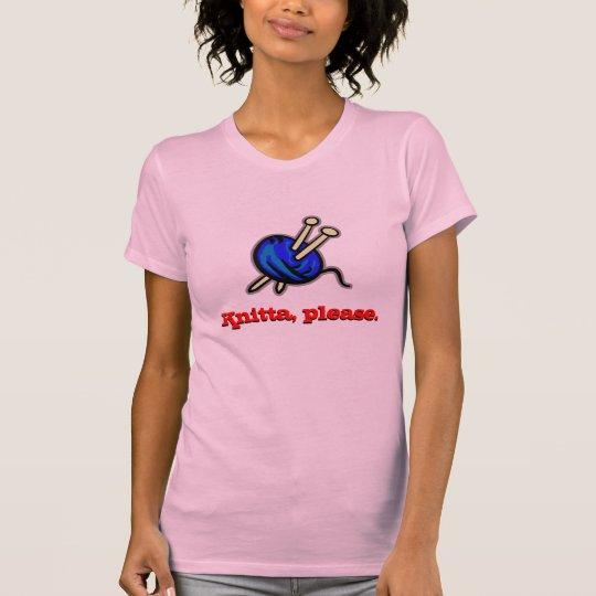 Knitta, Please. T-Shirt