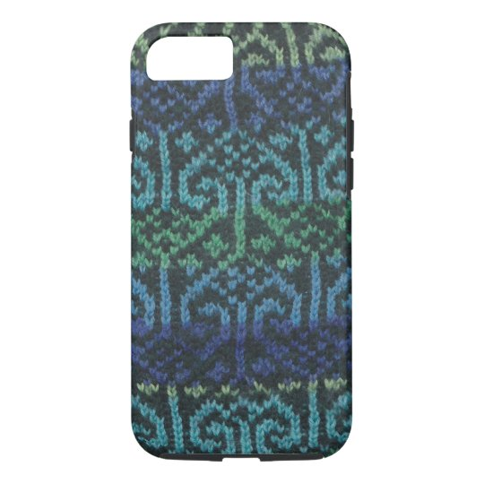 Knitted cover for iPhone 7 case