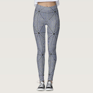 KNITTED CROSSES LEGGINGS