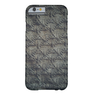 Knitted dark pattern | barely there iPhone 6 case