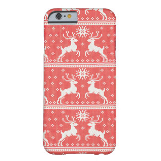 Knitted Deer Pattern Barely There iPhone 6 Case