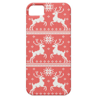 Knitted Deer Pattern Case For The iPhone 5
