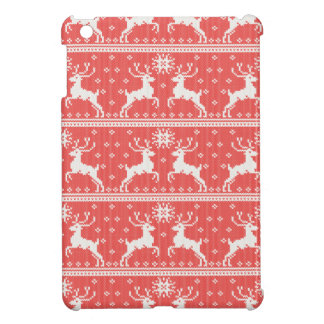 Knitted Deer Pattern iPad Mini Cases
