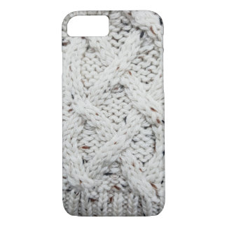 Knitted grey pattern iPhone 8/7 case