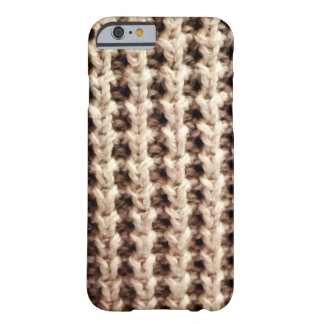 Knitted Jersey iPhone 6/6s, Barely There Case