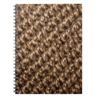 Knitted pattern notebooks