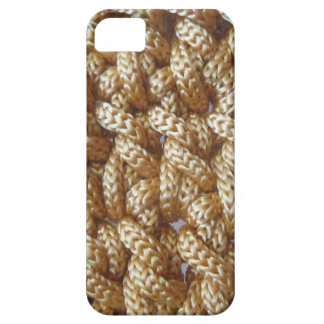 Knitted yellow pattern barely there iPhone 5 case