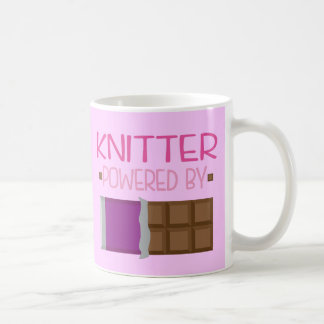 Knitter Chocolate Gift for Her Mug