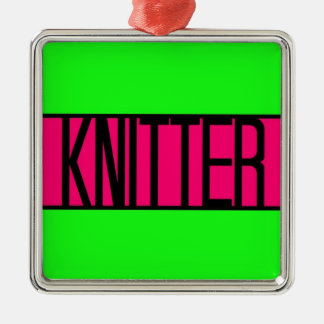 Knitter Christmas Ornament