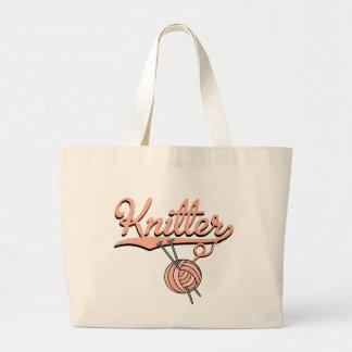 Knitter Tote Bag