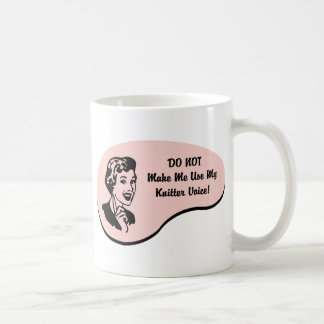 Knitter Voice Coffee Mug